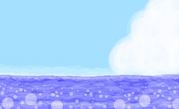 170625_お絵かき(夏の海と入道雲).jpg